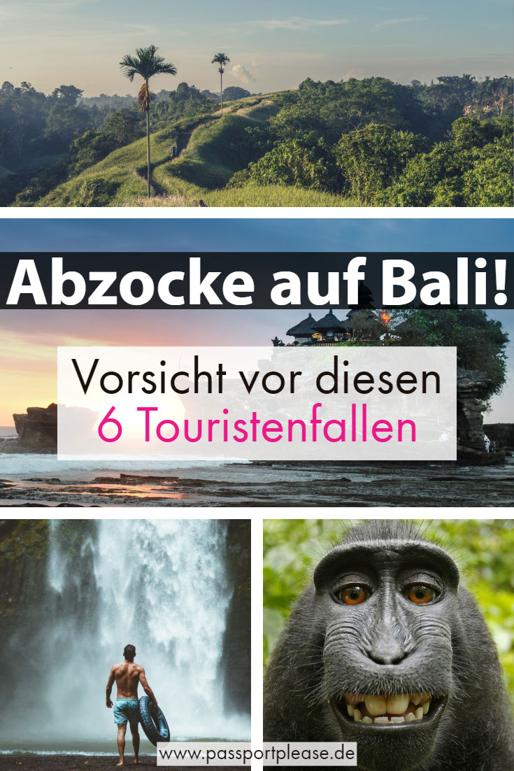 Bali-Touristenfallen-Pin
