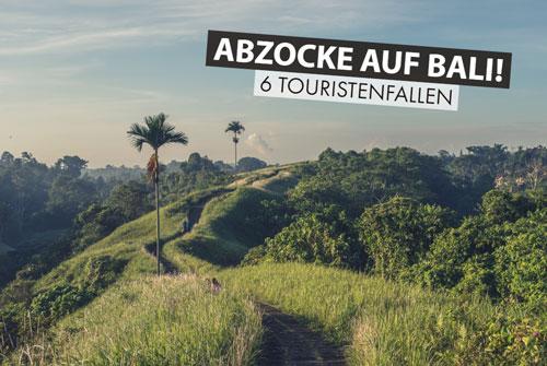 Bali-Touristenfallen